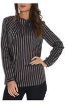 Xacus Women's Blue Cotton Blouse.