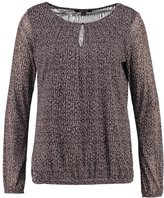 Comma, Long Sleeved Top Grey/black