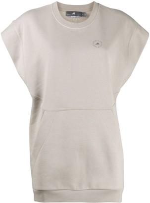 adidas by Stella McCartney Oversized Sleeveless Sweatshirt