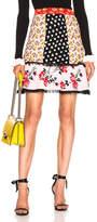 Alexander McQueen Floral Peplum Mini Skirt