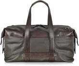 The Bridge Pininfarina Fabric and Leather Duffle Bag