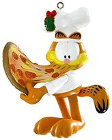 Carlton Garfield with Pizza 2014 Heirloom Ornament