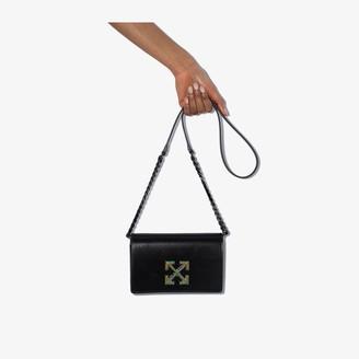 Off-White Black Twist Jitney 0.5 shoulder bag