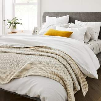 west elm Mixed Herringbone Blanket