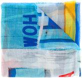 Faliero Sarti multi print scarf