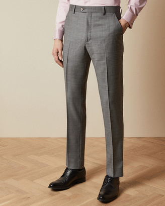 Ted Baker HECTORT Debonair sharkskin wool suit trousers