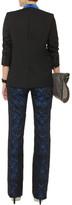 Stella McCartney Wool and mohair-blend blazer