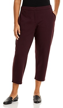 Eileen Fisher, Plus Size Slouchy Ankle Pants