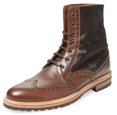 Gordon Rush Pony Inset Wingtip Boot