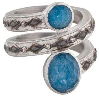 Armenta New World Diamond & Multistone Ring