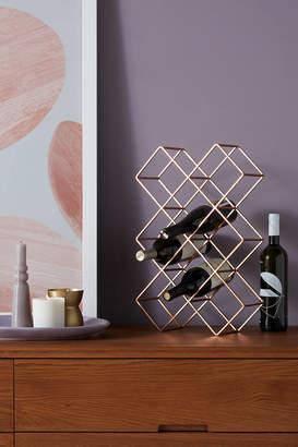 Anthropologie Geometric Wine Rack