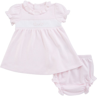 Kissy Kissy Premier Cottontails Dress w/ Matching Bloomers, Size 3-18 Months