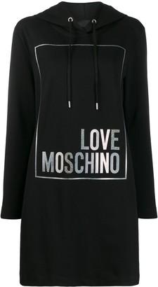 Love Moschino Logo Hoodie