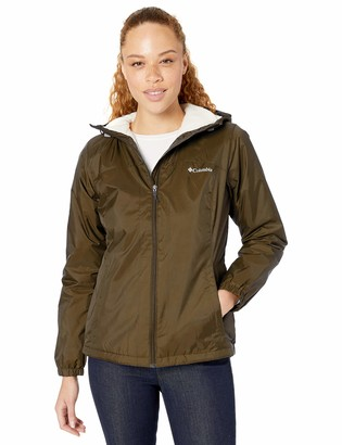 Columbia Women's Plus Size Switchback Sherpa Lined Jacket