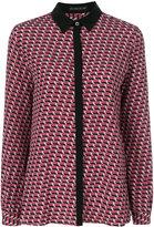 Etro Mini shirt - women - Silk - 42
