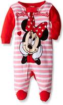 Disney Girls' Minnie Mouse 1pc Sleeper