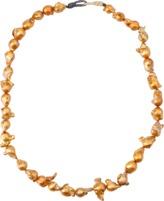 BOAZ KASHI Baroque Golden Pearl Necklace