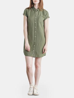 Bridge & Burn Loren Button Front Shirt Dress