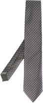 Canali dotted pattern tie - men - Silk - One Size