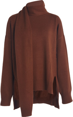 LOULOU STUDIO Spano Tie-Detailed Cashmere Sweater