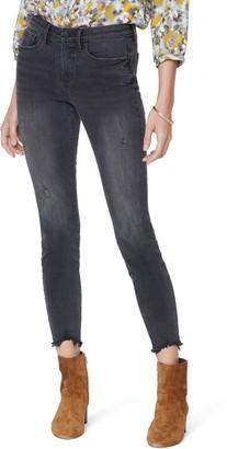 NYDJ Ami Chewed Hem Ankle Skinny Jeans