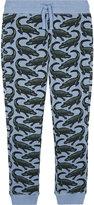 Stella Mccartney Zacy Alligator Pattern Cotton Trousers 4-12 Years