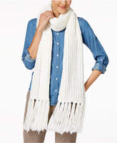INC International Concepts Chenille Fringe Skinny Scarf, Created for Macy's
