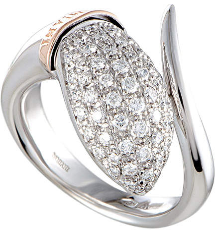 Damiani 18K Two-Tone 0.60 Ct. Tw. Diamond Ring