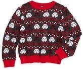 JEM Toddler Boy's Holiday Wars Sweater