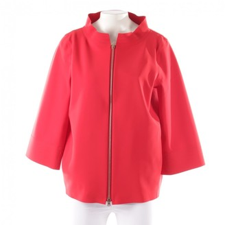 Herno Red Synthetic Jackets