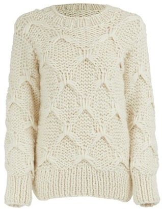 Officine Generale Diamond wool sweater