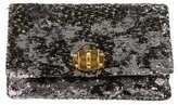 Miu Miu Sequin Flap Clutch