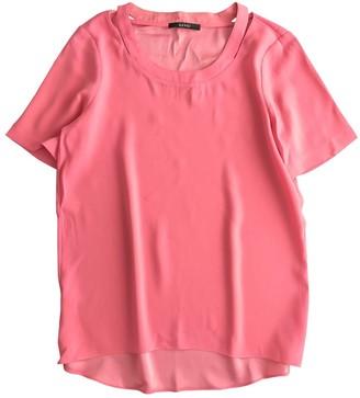 Gucci Pink Silk Tops