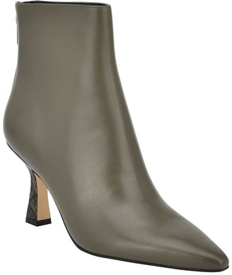 Marc Fisher Hint Leather Bootie