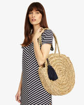 Phase Eight Mimi Straw Shopper with Tassels
