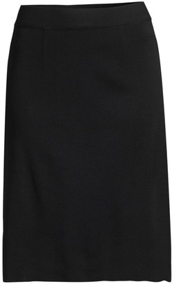 Misook Knit Knee-Length Skirt