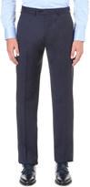 Armani Collezioni Regular-fit wool twill trousers