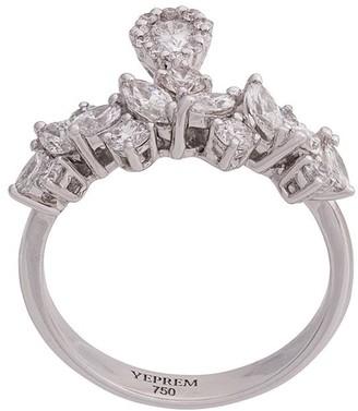 YEPREM Embellished Finger Ring