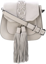 Rebecca Minkoff fringed hobo bag - women - Cotton/Calf Leather - One Size