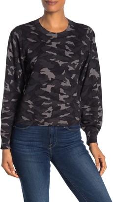 Joie Verna Camo Print Sweater
