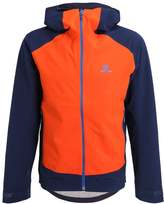 Salomon Nebula Hardshell Jacket Vivid Orange/big Bluex