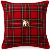 """Ralph Lauren Bowen English Bulldog Pillow, 18"""" x 18"""""""