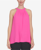 CeCe Pleated Halter Top