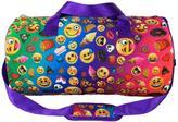 Emoji Montage Rainbow Duffle Bag