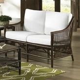 Panama Jack Bora Bora Loveseat Sunroom Upholstery Color: Rave Spearmint