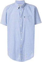 Barbour gingham check short sleeved shirt