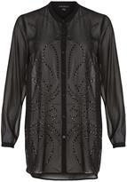 Tribal Black Embellished Tunic