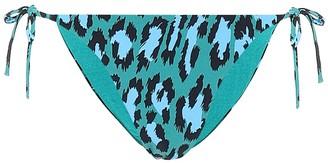 Diane von Furstenberg Kate leopard-print bikini bottoms