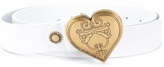 Versace Heart-Detail Belt