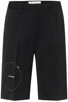 Off-White Gabardine shorts